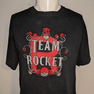 Pokemon Team Rocket Shirt Large Excellent